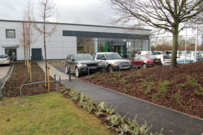 Synergy complete work on new Skoda showroom