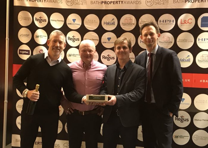 Bath Abbey Footprint Project is Winner of Winners!
