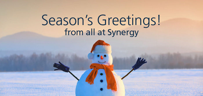 Merry Christmas from all at Synergy