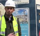 The Bath Abbey Footprint Video Blog