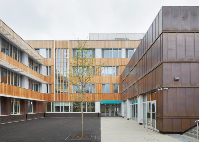 First ever Passivhaus Secondary School opens in Sutton