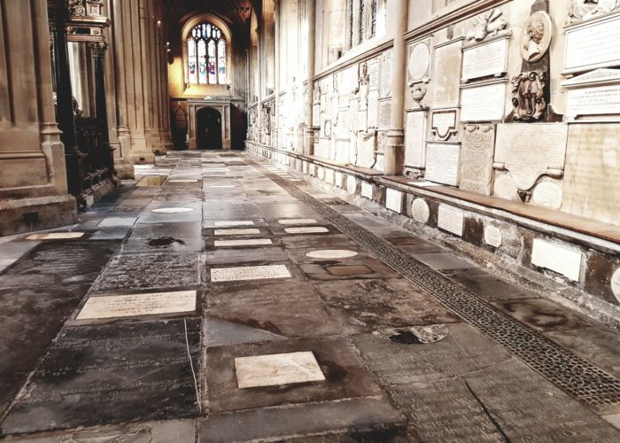 Restoration of North Side of Bath Abbey Completed!