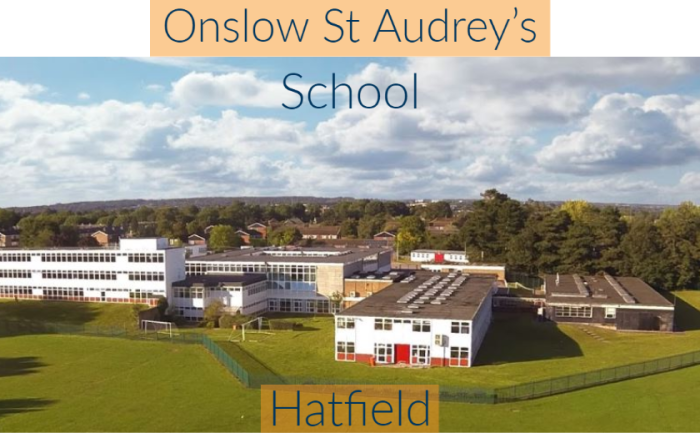 Synergy selected for major expansion at Onslow St Audrey's School, Hatfield