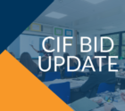 Condition Improvement Fund (CIF) 2020-2021 Bid Feedback and Appeals