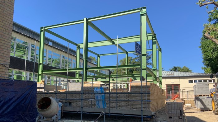 Rising of a New Science Space at Weald of Kent Grammar School