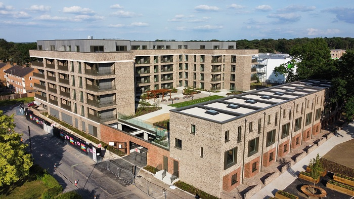 First residential phase of the Sheerwater Regeneration reaches completion.