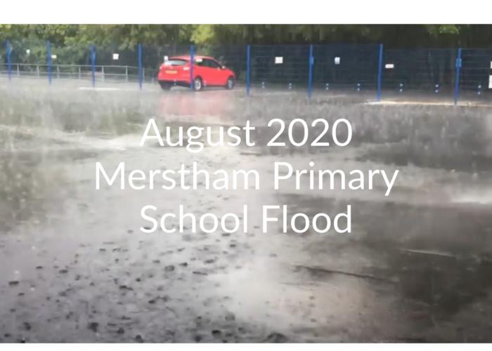 Merstham Primary School flood – When disaster strikes